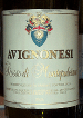 Avignonesi Wine Label