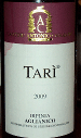 Tari Wine Label