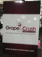 Grape Crush Productions Sign