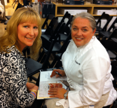 Virginia Willis Cookbook Signing