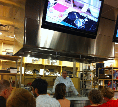 Virginia Willis Cooking Demonstration