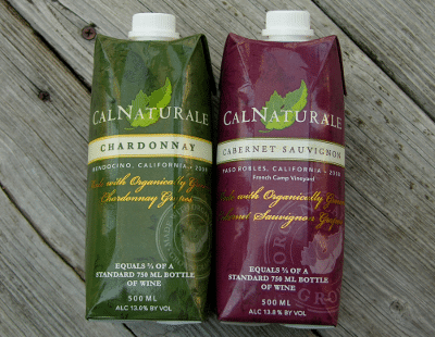 CalNaturale Chardonnay and Cabernet Sauvignon Wines