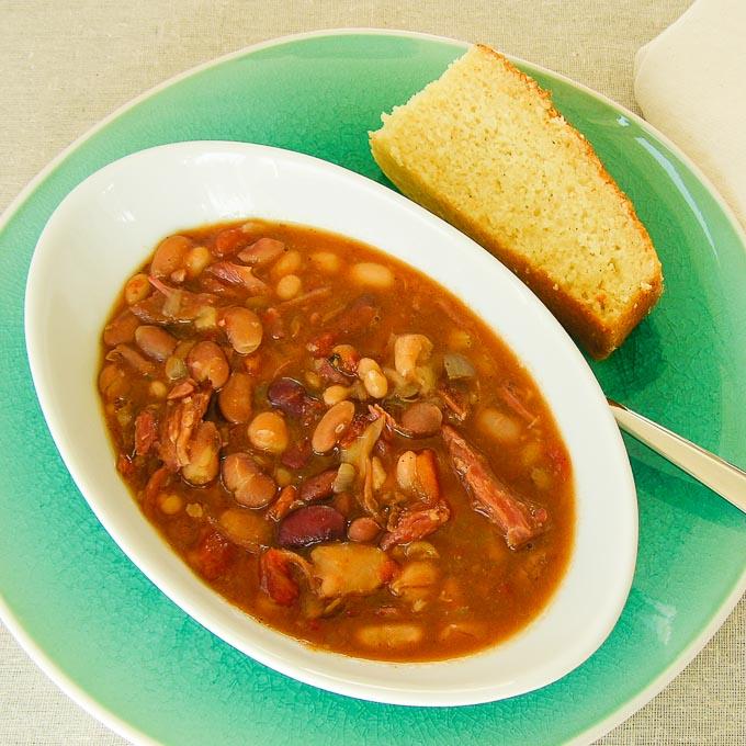 Ham and Bean Soup | Magnolia Days