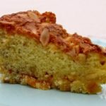 A slice of Apricot Nut Cake