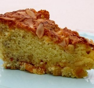 Apricot Nut Cake