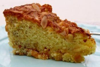A slice of Apricot Nut Cake