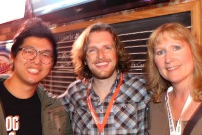 John Saddington, Matt Mullenweg, and Renee Dobbs