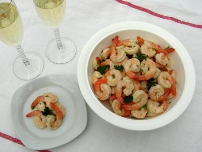 Shrimp Arnean Appetizer #RomanceDinner #SundaySupper
