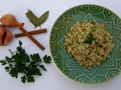Nutty Couscous for #SundaySupper