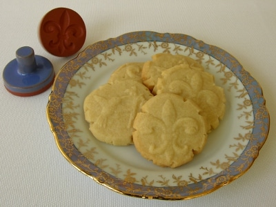 Stamped Shortbread