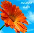 Sunshine Award Icon