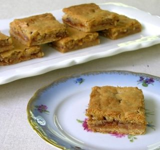Brandied Apricot Bars