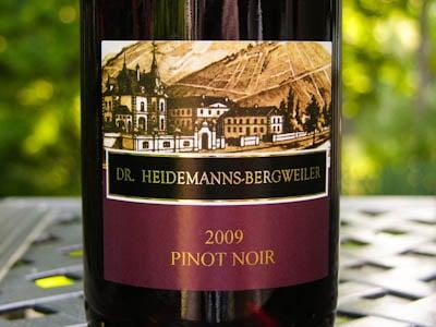 Dr. Heidemanns-Bergweiler Pinot Noir 2009
