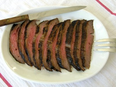 Ginger Marinated Flank Steak