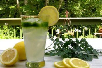 Lemon Parsley Cocktail