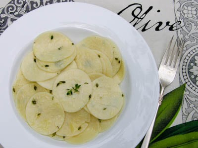 Pasta with Butter-Thyme Sauce