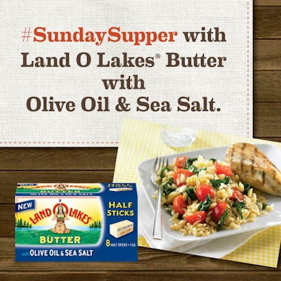#SundaySupper Land O Lakes Logo