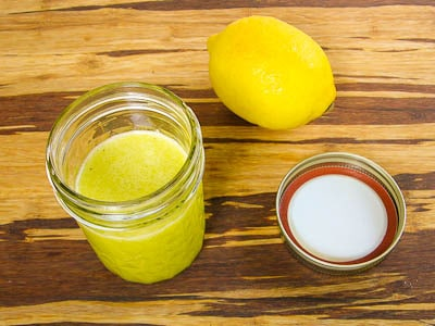 Oil and Lemon Dressing