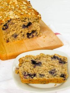 Walnut Blueberry Bread Slice