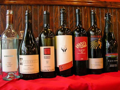 Australian Wines featured in 15th Street Pizza Wine Tasting