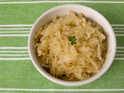 kuhne sauerkraut how to cook