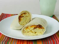 Bacon, Egg, and Cheese Breakfast Wraps