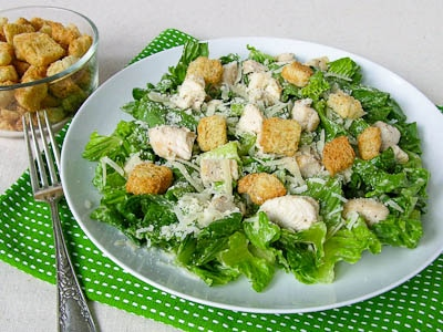 Grilled Chicken Caesar Salad for #SundaySupper