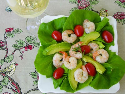 Shrimp Salad With Lemon Tarragon Dressing for #SundaySupper