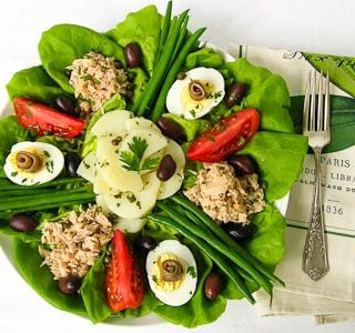 Tuna Salad Nicoise #CookForJulia #SundaySupper