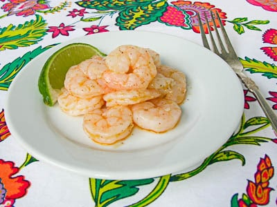 Roasted Shrimp With Chili-Lime Sauce