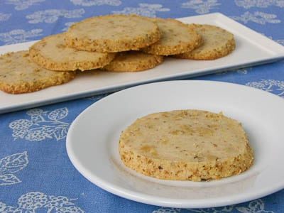 Walnut Cream Cheese Cookies