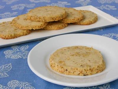 Walnut Cream Cheese Cookies