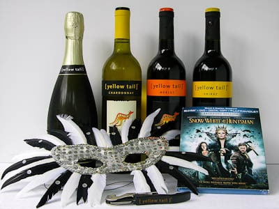 Yellow Tail wines for Snow White and The Huntsman movie night