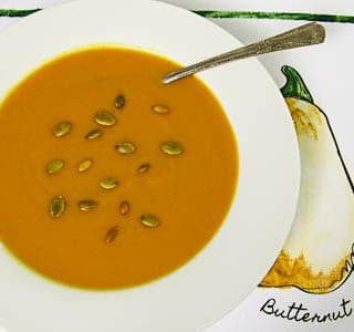 Butternut Squash Soup for #SundaySupper