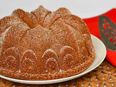 Cinnamon Crown Bundt Cake