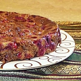 Cranberry Pudding With Vanilla Sauce – Guest Post by Pam of The MeltAways