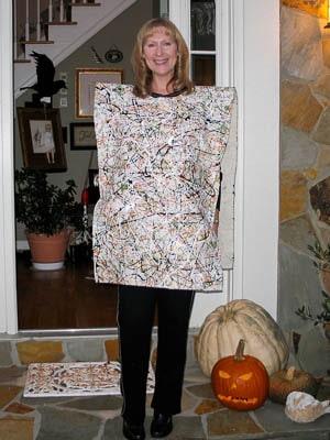 Jackson Pollock Painting Halloween Costume