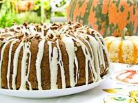 Pumpkin Pecan Bundt Cake