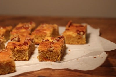Pumpkin Pecan Sheet Cake