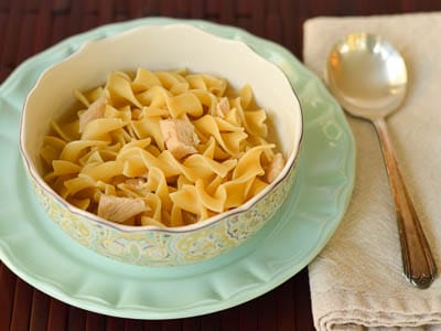 Turkey Noodle Soup for #SundaySupper