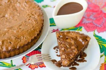 Brownie Tart for #SundaySupper