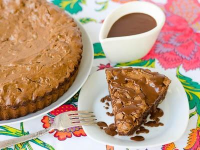 Brownie Tart   Magnolia Days