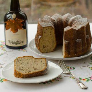 Madeira Pound Bundt Cake for #BundtAMonth