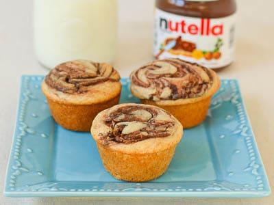 zucchini muffins nutella swirl zucchini nutella muffins a muffin and a ...