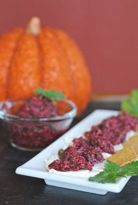 Spicy Cranberry Relish – Guest Post by Jen of Juanita's Cocina