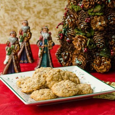 Christmas Crunchies Cookies   Magnolia Days