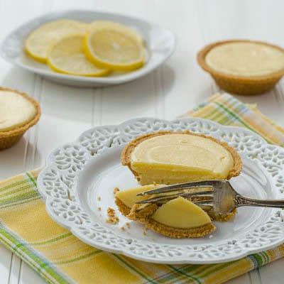 Lemon Pie Tartlets | Magnolia Days