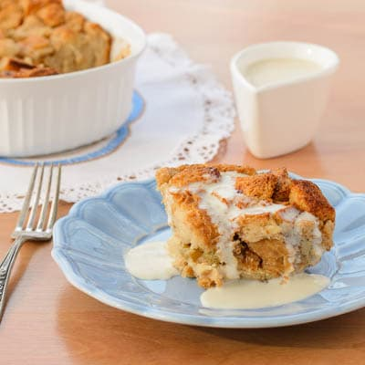 New Orleans Style Bread Pudding With Whiskey Sauce | Magnolia Days