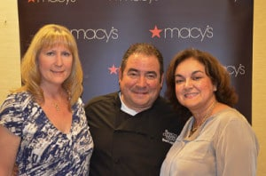 Me, Emeril Lagasse, and Isabel (Family Foodie)