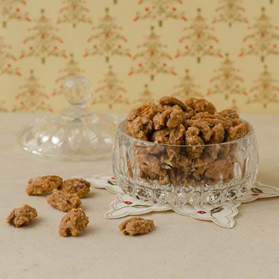 Spiced Pecans | Magnolia Days